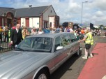 2015 Blantyre Gala Day 27th June. Royal pageant leaves Miners Welfare (PV)